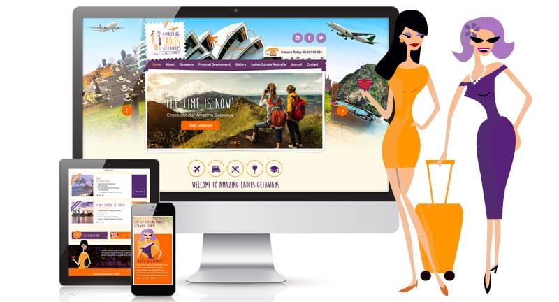Amazing Ladies Getaways Website