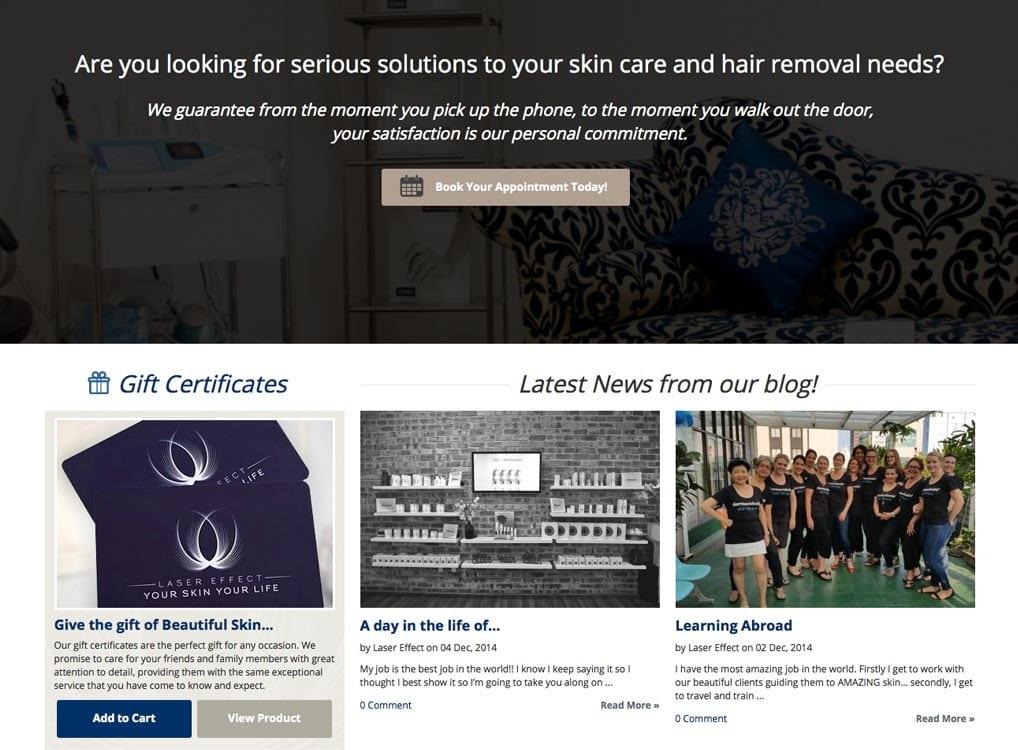 Laser Effect Skin Treatment Newcastle