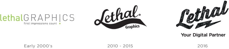 Lethal Logo Evolution